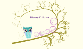 Copy of Literary Criticism