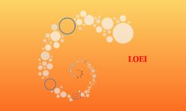 Copy of LOEI