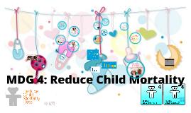 4th Millennium Development Goal – Reduce Child Mortality