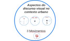 Aspectos do discurso visual no contexto urbano