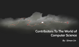 Contributors To The World of Computer Science