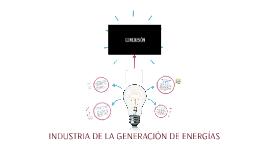 INDUSTRIA DE LA GENERACIÓN DE ENERGÍAS