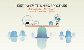 EXEMPLARY TEACHING PRACTICES