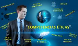 Copy of Competenccias éticas