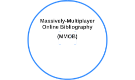 Massively-Multiplayer