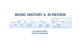 Music History 2: Review