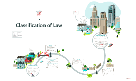 Classification of Law