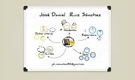 White Board Prezumé de Jose  Daniel