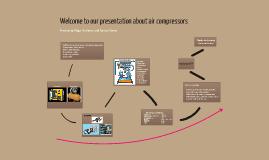 Präsentation eine Luftkompressors