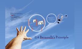 11.4 Bernoulli's Principle