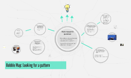 Bubble Map: Looking for a pattern