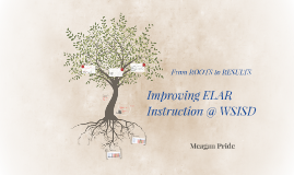 Improving ELAR Instruction @ WSISD