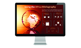 Using the Africa Bibliography