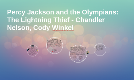 Copy of Percy Jackson and the Olympians: The Lightning Thief - Chand