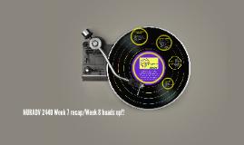 NURADV 2440 Week 3 recap/Week 4 heads up!!