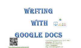 Writing with Google Docs