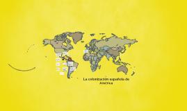 La colonización española de América