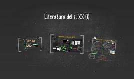 Literatura del s. XX (I)