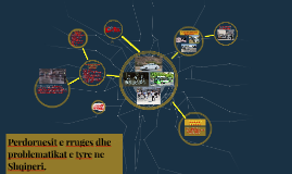 Perdoruesit e rruges dhe problematikat e tyre ne Shqiperi.
