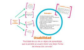 Usabilidad en un objeto de aprendizaje