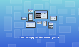 Version2 2014-15 Session4 - Unit5 - Managing Networks - Network Management Functions