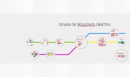 DESIGN DE PEQUENOS OBJETOS