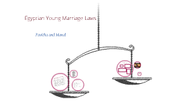 Early marriage laws in Egypt.