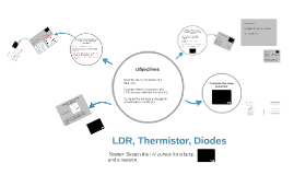 LDR, Thermistor, Diodes