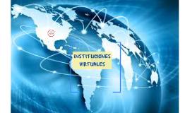 instituciones virtuales
