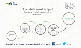 The Whiteboard Project