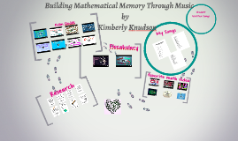 BUILDING MATHEMATICAL MEMORY THROUGH MUSIC