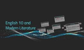 English 10 and Modern Literature