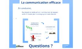 Copy of La communication efficace