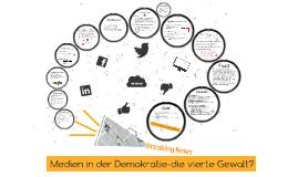 Medien und Demokratie-die vierte Gewalt