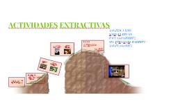Copy of ACTIVIDADES EXTRAXTIVAS