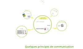 Quelques principes de communication