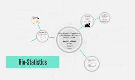 Bio-Statistics