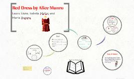 The red dress alice munro summary