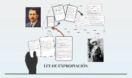 LEY DE EXPROPIACIÓN