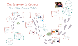 The Journey to College for Juniors