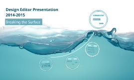 Editor Presentation 2014-2015