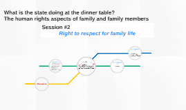 Right to respect for family life