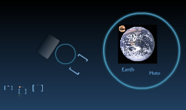 Pluto and Earth