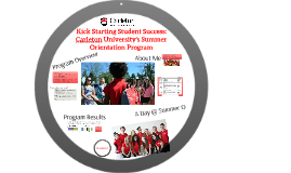 Kick Starting Student Success: Carleton University's Summer Orientation Program