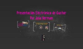Mi nombre es Joia Herman
