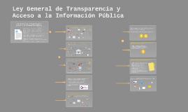Ley General de Transparencia y Acceso a la Información Públi