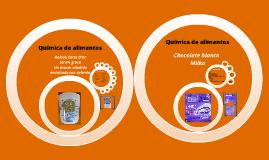 Quimica de alimentos