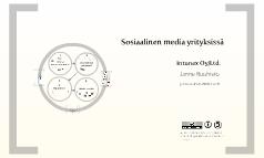 Sosiaalinen media yrityksen liiketoiminnan tukena