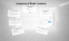 Components of Health: Social