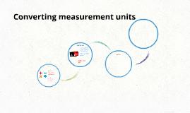 Converting measurement units
